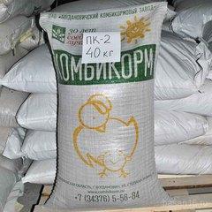 Комбикорм ПК-2 для цыплят кур-несушек, Богдановичский комбикормовый завод
