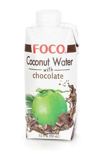 Кокосовая Вода с Шоколадом Foco, 330 мл