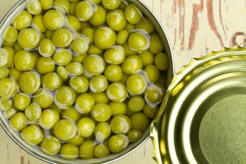 Горошек зеленый (ЕКО) ж/б 0,4 кг.