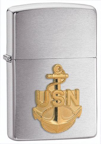 Зажигалка Zippo U.S. Navy Emblem