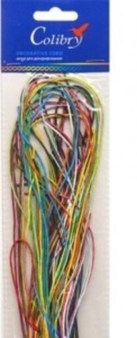 Набор шнуров для декорирования ассортий 20х1мм Colibry