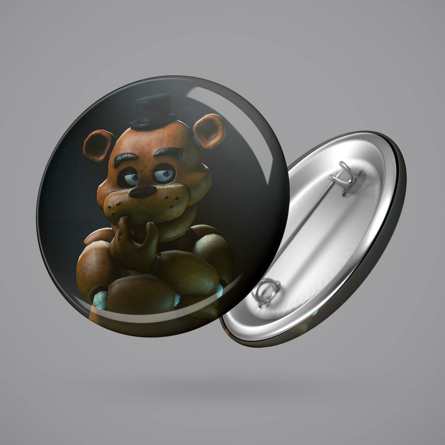 Значок с Фредди №2 - купить в интернет-магазине kinoshop24.ru