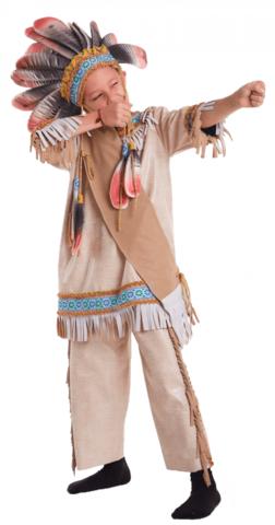 Костюм Индейца 1
