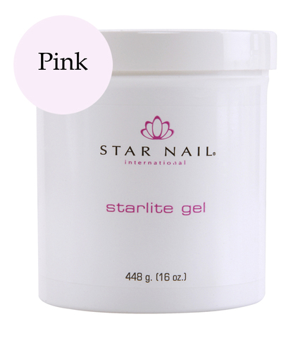 Гель скульптурный, розовый StarLite Pink 448г