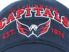 Бейсболка NHL Washington Capitals est. 1974