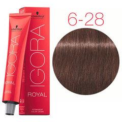 Schwarzkopf Igora Royal 6-28 (Темный русый пепельный красный) - Краска для волос