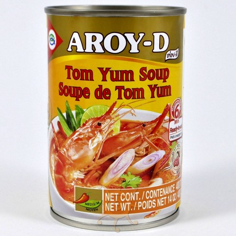 Суп Том Ям (Tom Yum) готовый Aroy-D 400г