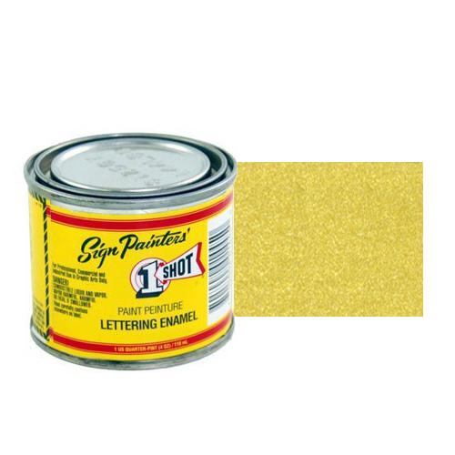 Пинстрайпинг (pinstriping) 109-L Эмаль для пинстрайпинга 1 Shot Золото (Metallic Gold), 118 мл gold.jpg