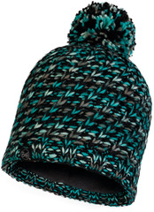 Шапка вязаная с флисом Buff Hat Knitted Polar Valya Turquoise