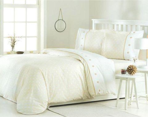 Комплект постельного белья Ранфорс Пике 1-сп.