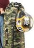 Многофункциональное внешнее крепление для шлема, толстовки и др.