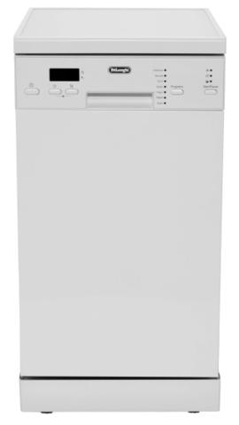 Посудомоечная машина шириной 45 см DeLonghi DDWS 09 S RUBINO