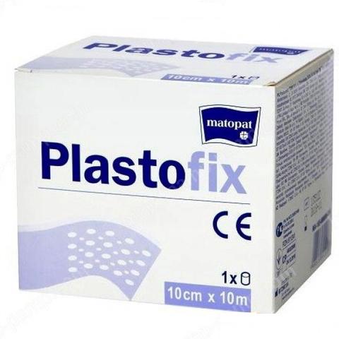 Пластофикс - Plastofix, пластырь, 10м х 10см
