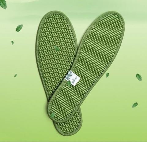 Стельки с зеленым чаем антибактериальные (при грибке и потливости)