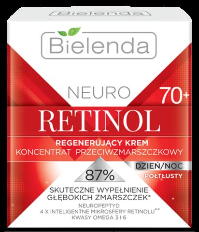 NEURO RETINOL Восстанавливающий крем-концентрат против морщин 70+ полужирный день/ночь 50мл