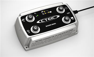 Зарядное устройство для 12В АКБ (5 этапов, 40‐300Aч) D250S DUAL