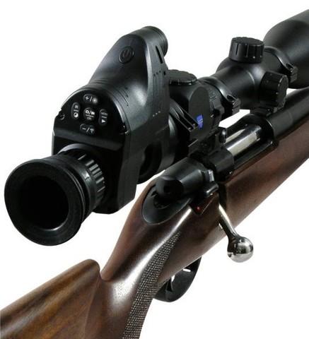 Цифровой охотничий прицел-насадка ночного видения PARD NV007 P