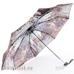 Карманный mini зонт компактный мужской Lamberti ночной город