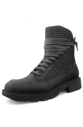 Высокие ботинки на шнуровке «ZOROT»