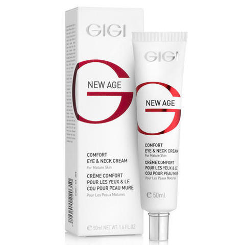 Крем для век и шеи Comfort Eye & Neck Cream, New Age, GiGi, 50 мл