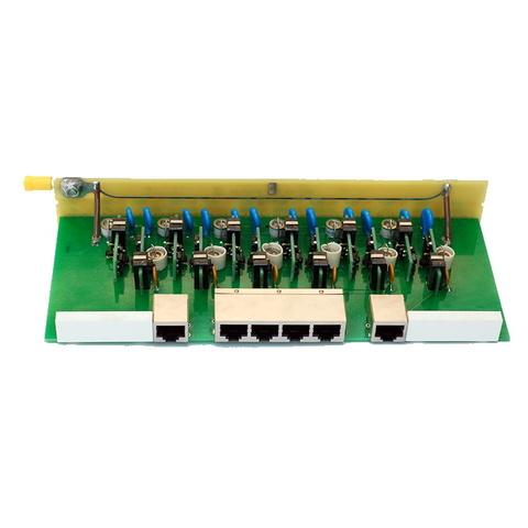 Групповой модуль защиты на 6 портов РГ4GPoE-6LSA