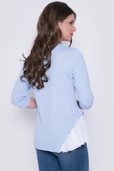 <p>Оригинальная блуза, которая точно вызовет белую зависть у подруг. Шикарно, необычно, современно. Рекомендуем.</p>