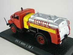 IFA S 4000-1 SW 7 Minol Tanker red-yellow Atlas 1:43