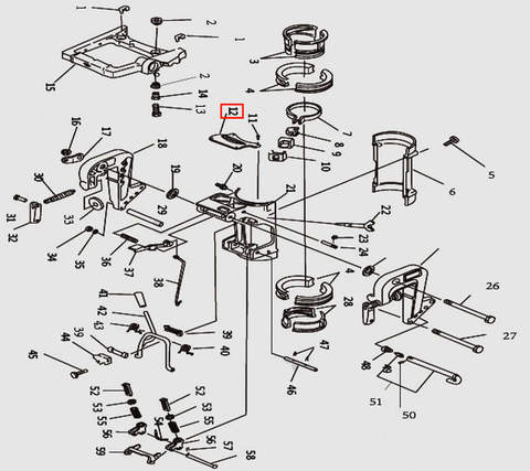 Кожух для лодочного мотора T9.8 Sea-PRO (11-12)