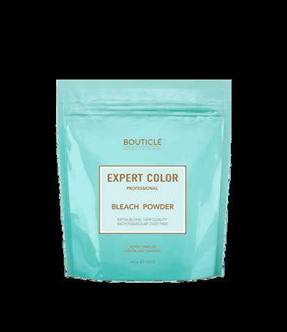 Осветление Обесцвечивающая пудра с кератином и кашемиром – «BOUTICLE Expert Color Powder Bleach»  (500 гр)