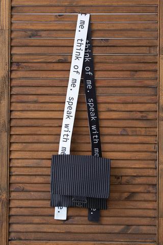 Фото небольшая черная сумка через плечо - Сумка Ц001-903 (1)
