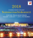 Anna Netrebko, Vienna Philharmonic, Valery Gergiev / Summer Night Concert 2018 (DVD)