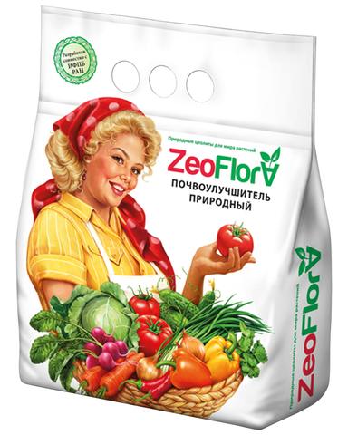 Почвоулучшитель универсальный для всех видов растений, 5 л ZeoFlora