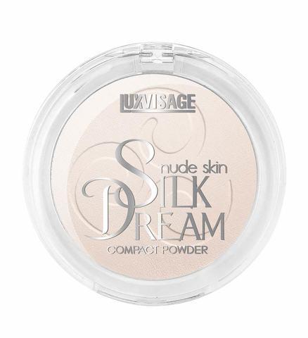LuxVisage Silk Dream nude skin Пудра компактная тон 1 (Фарфоровый)
