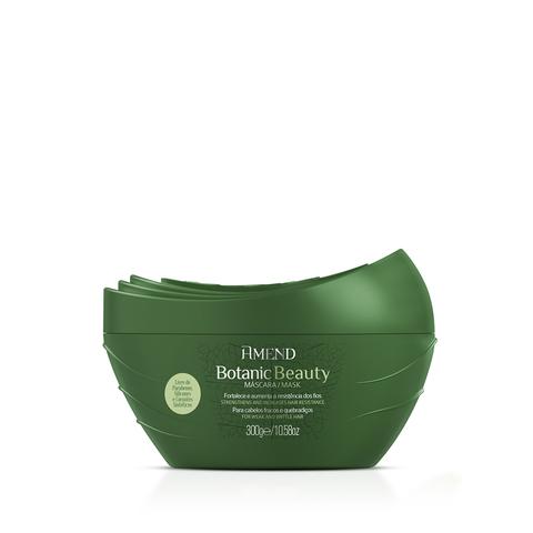 AMEND   Органическая маска для активного укрепления волос  с экстрактами Розмарина и Имбиря, (300 г)