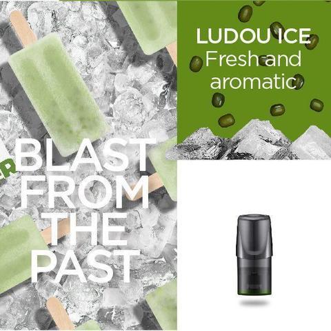 Сменный Картридж RELX 2ml Ludou Ice 3% (упаковка из 3шт)