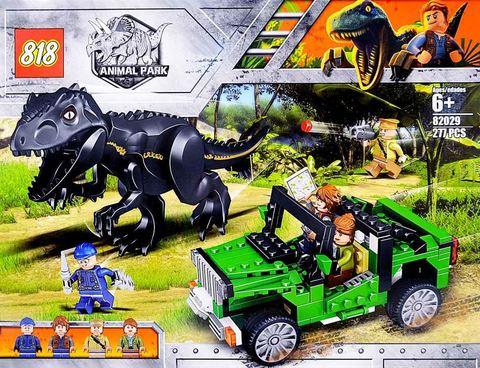 Конструктор Парк Юрского 82029 ,277д тираннозавр рекс