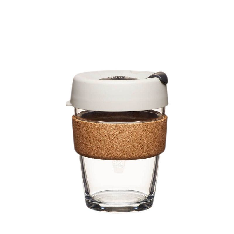 Кружка стеклянная KeepCup Brew - Cork Edition 12oz (340мл) Filter