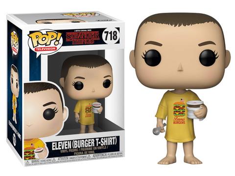 Eleven (Burger T-Shirt) Stranger Things Funko Pop! Vinyl Figure || Одинадцатая в футболке с бургером