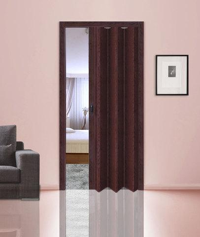 Дверь гармошка, венге