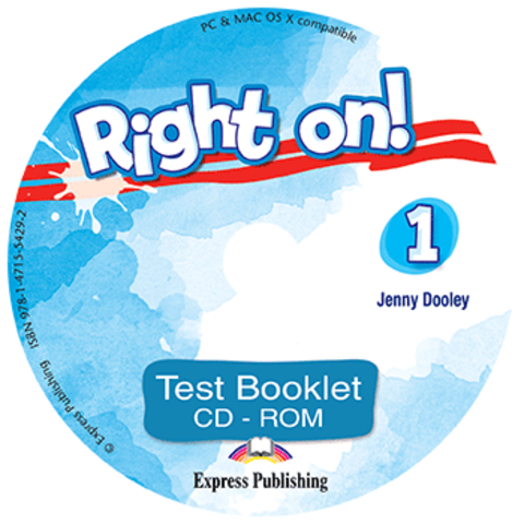 Right on! 1. Test booklet CD-ROM. Сборник тестовых заданий CD-ROM