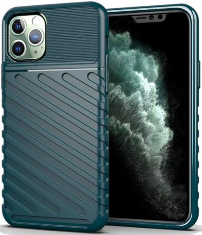 Чехол iPhone 11 Pro цвет Green (зеленый), серия Onyx, Caseport