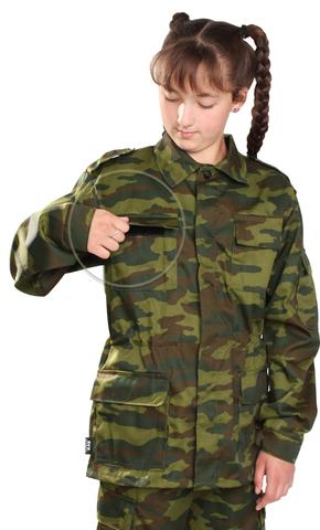 Костюм детский военно-полевой летний Флора опт