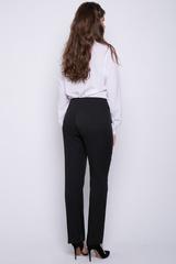 <p>Классические прямые брюки с очень удобной посадкой, талия на обтачке, сбоку замочек.</p>