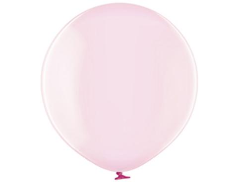 Большой шар кристалл розовый
