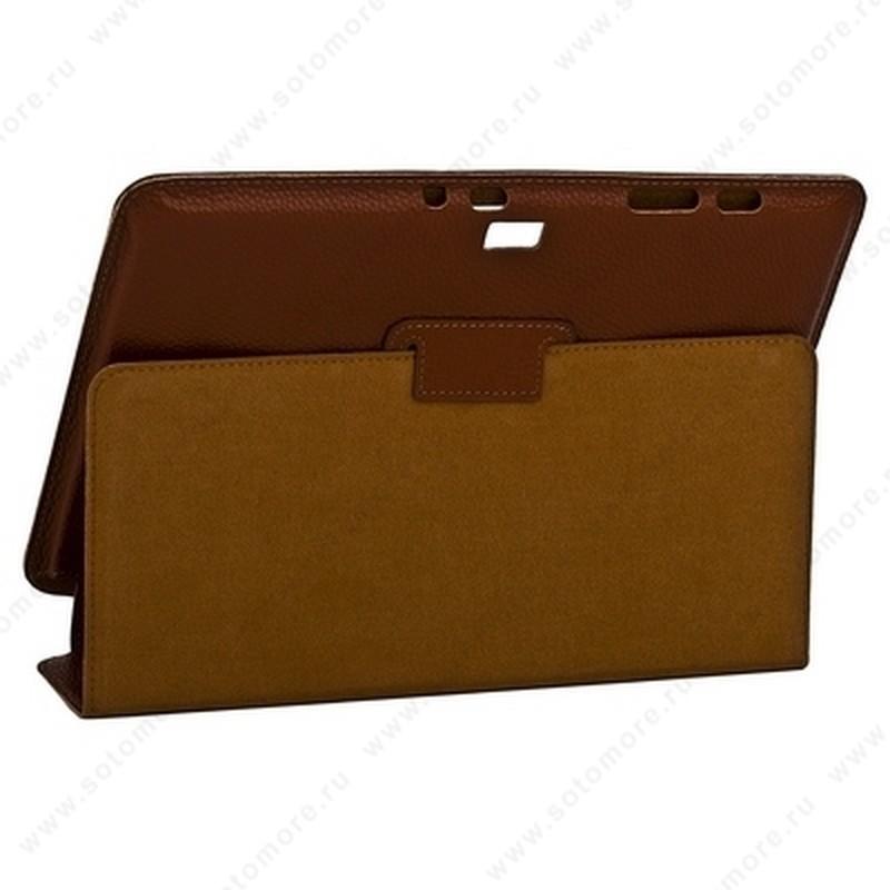 Чехол-книжка Yoobao для Samsung Galaxy Note 10.1 N8000 - Yoobao Executive Leather Case Brown