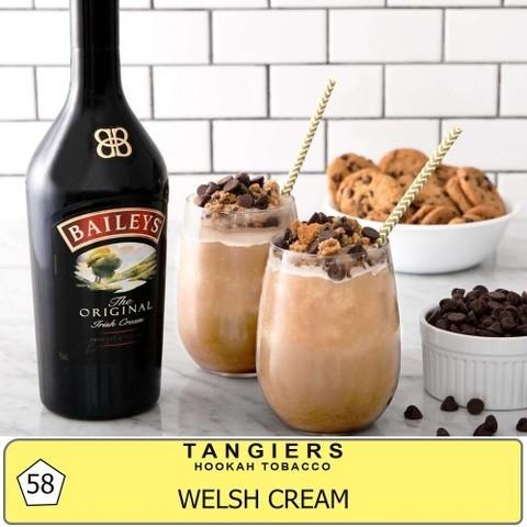 Табак Tangiers T58 Welsh Cream  (Танжирс Уэлльские Сливки) |Noir 20г