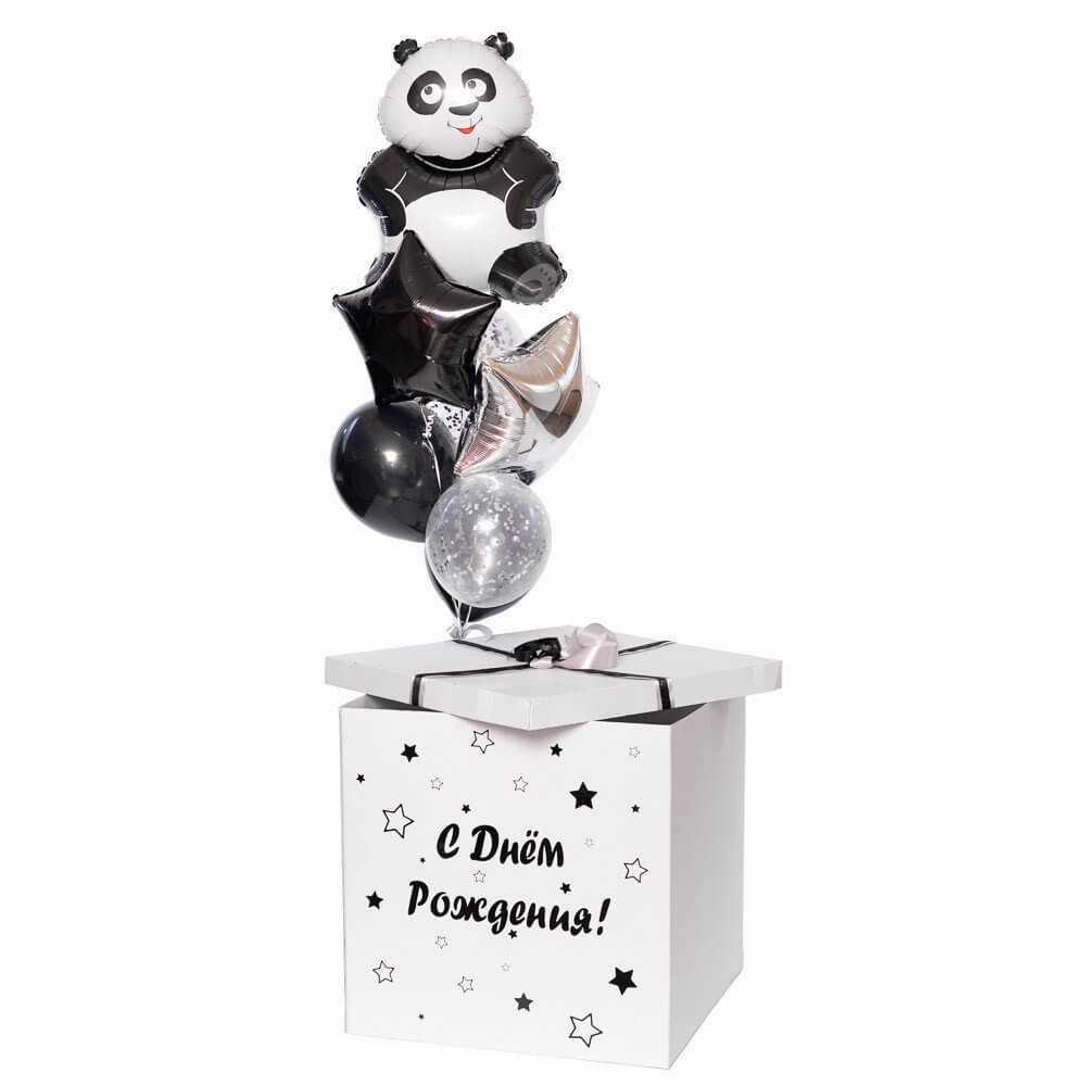 Шары в коробке Коробка с шариками и Пандой 201908281431051.jpg