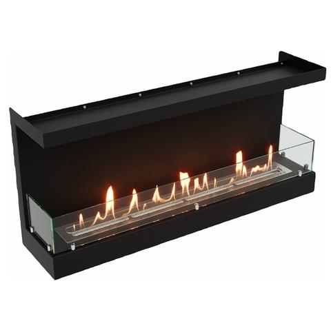 Торцевой биокамин Lux Fire Фронтальный 1040 S