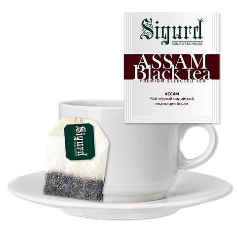 Чай Sigurd Ассам черный на чашку (30 пак)