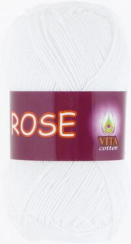 Пряжа Rose (Vita cotton) 3901 Белый